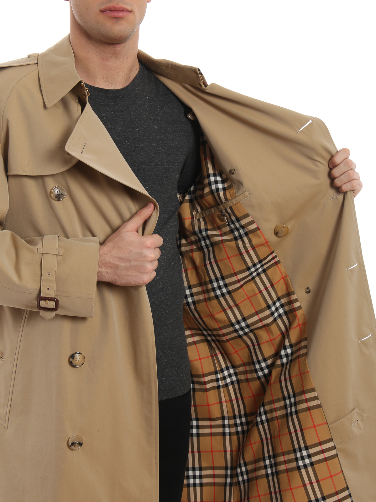 Burberry Trench Westminster in gabardine di cotone