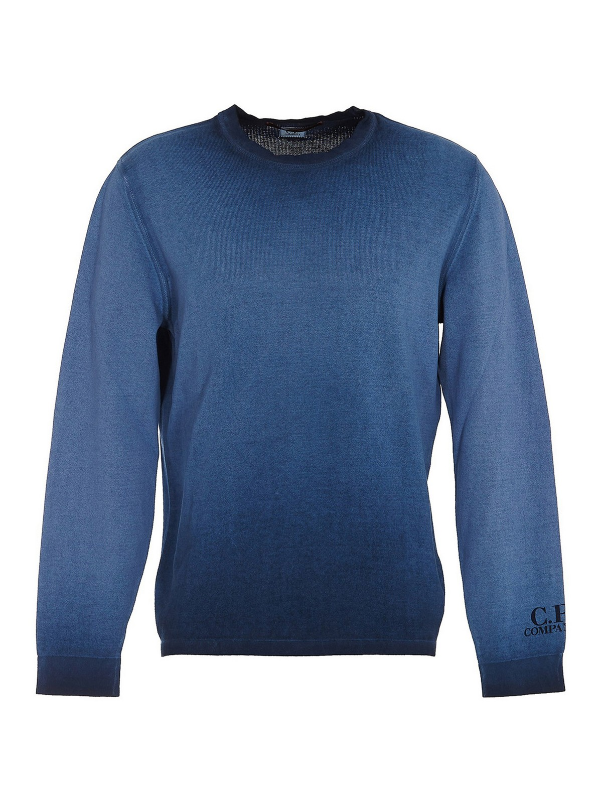 C.p. Company Cottons FADED BLUE SWEATER