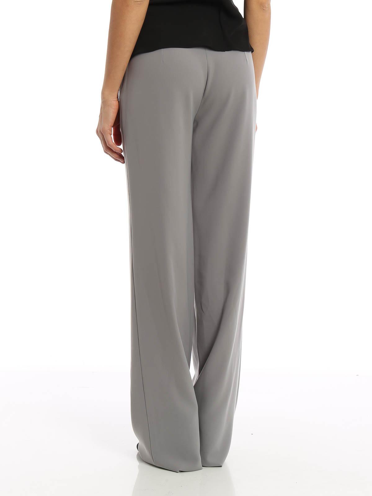 5f842075f Armani Collezioni - Pantalón De Vestir Gris Para Mujer - Pantalones ...