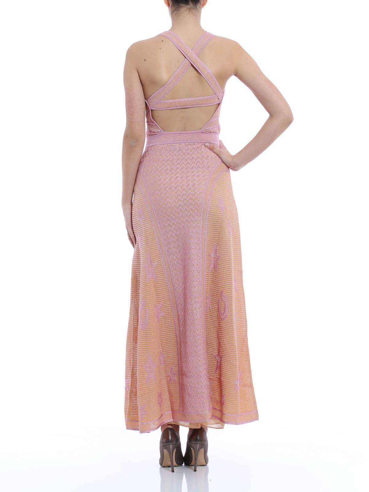 M Missoni Langes Kleid Ruckenfrei Abendkleider Kd3kd10b208cx7