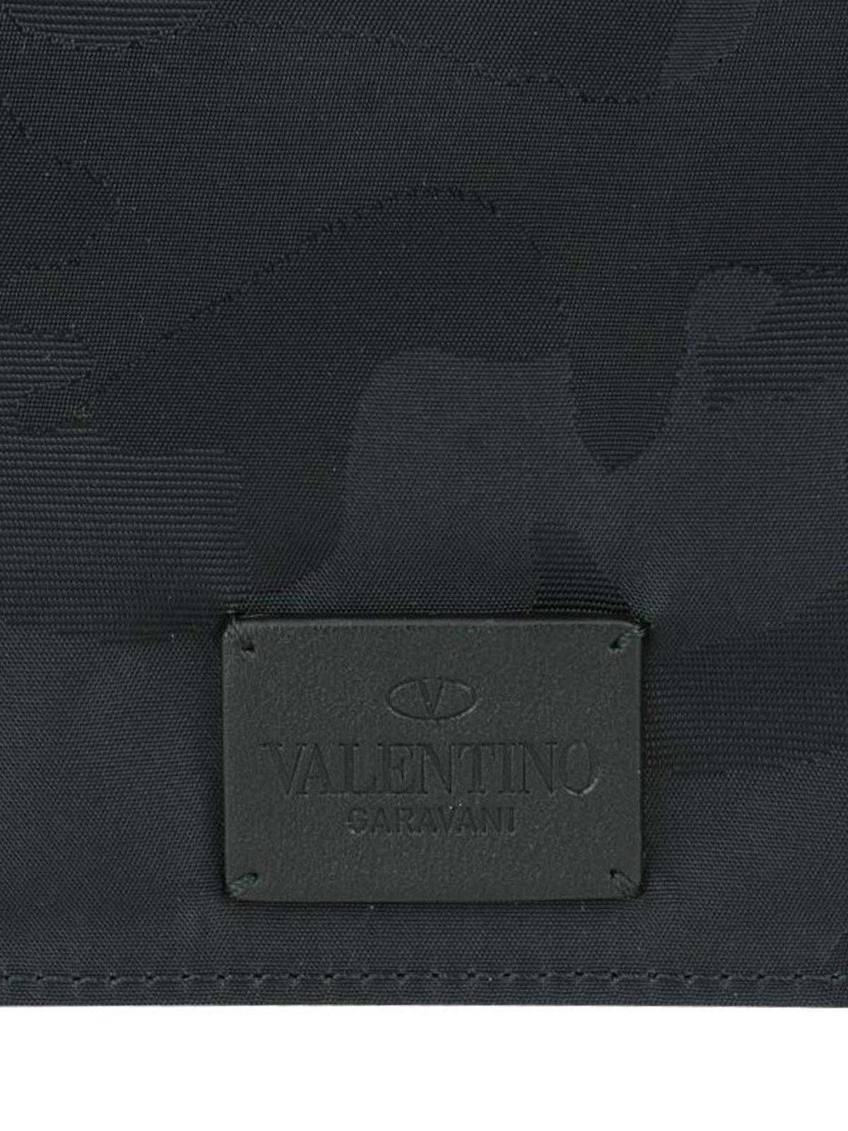 Valentino Camu technical fabric clutch tNc0zJIxSJ