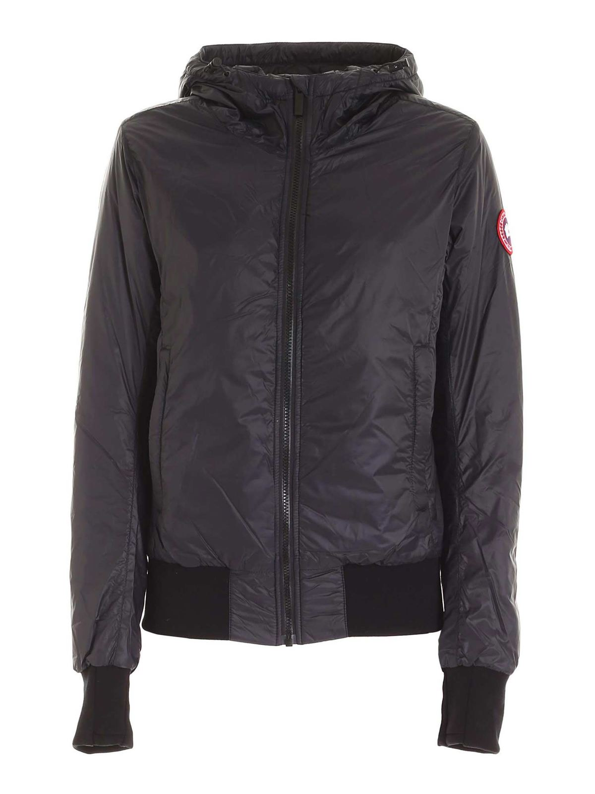 Canada Goose DORE HOODED DOWN JACKET IN BLACK