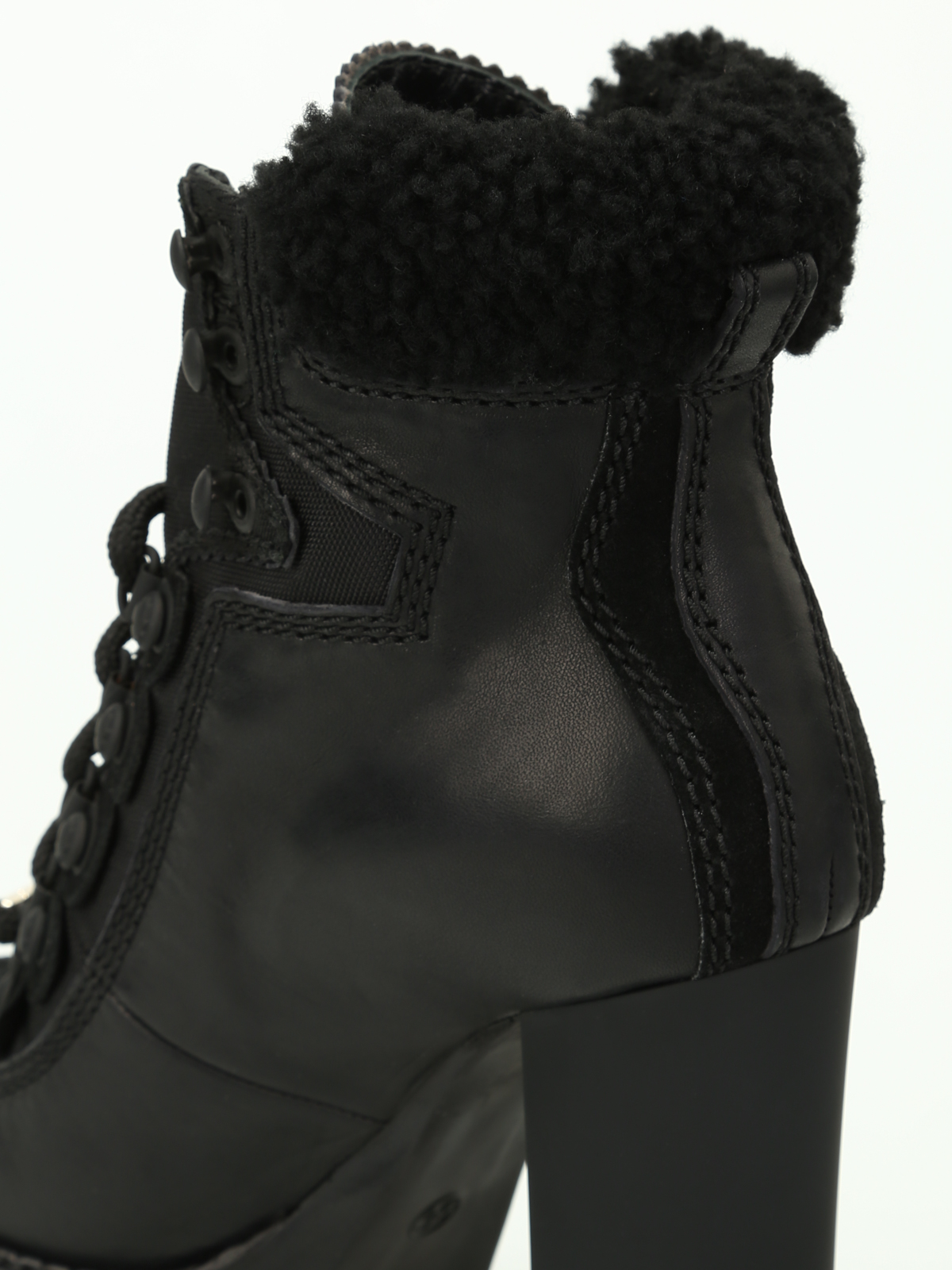 a7acbf003fdf Dsquared2 - Canada Hiking heeled ankle boots - ankle boots ...