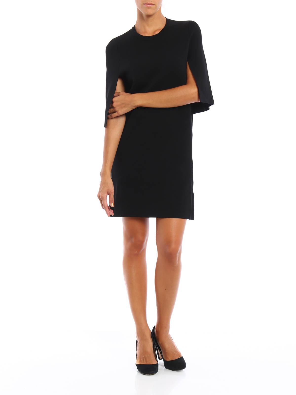 neil barrett - kurzes kleid - schwarz - kurze kleider