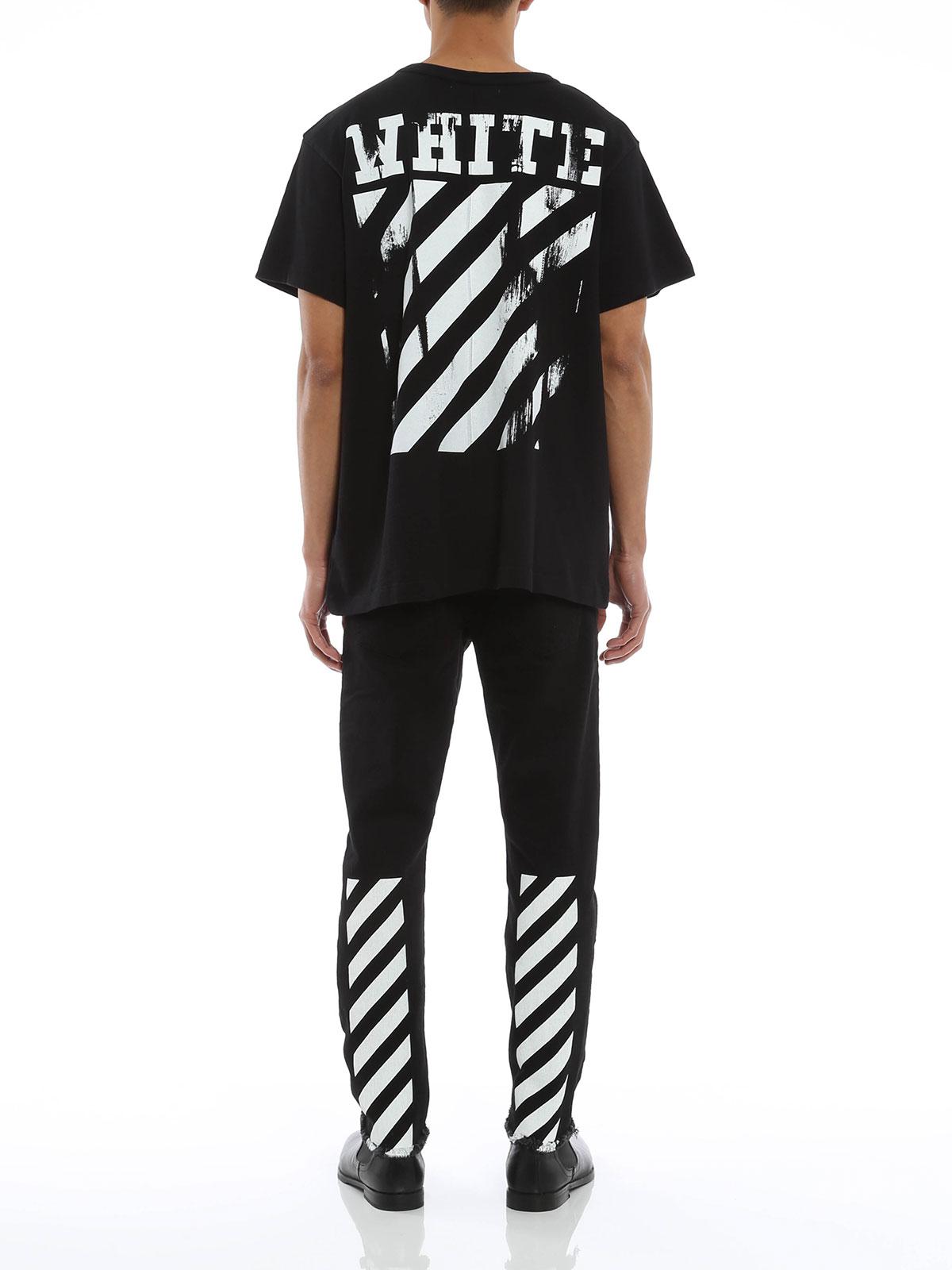 Online shopping white shirt