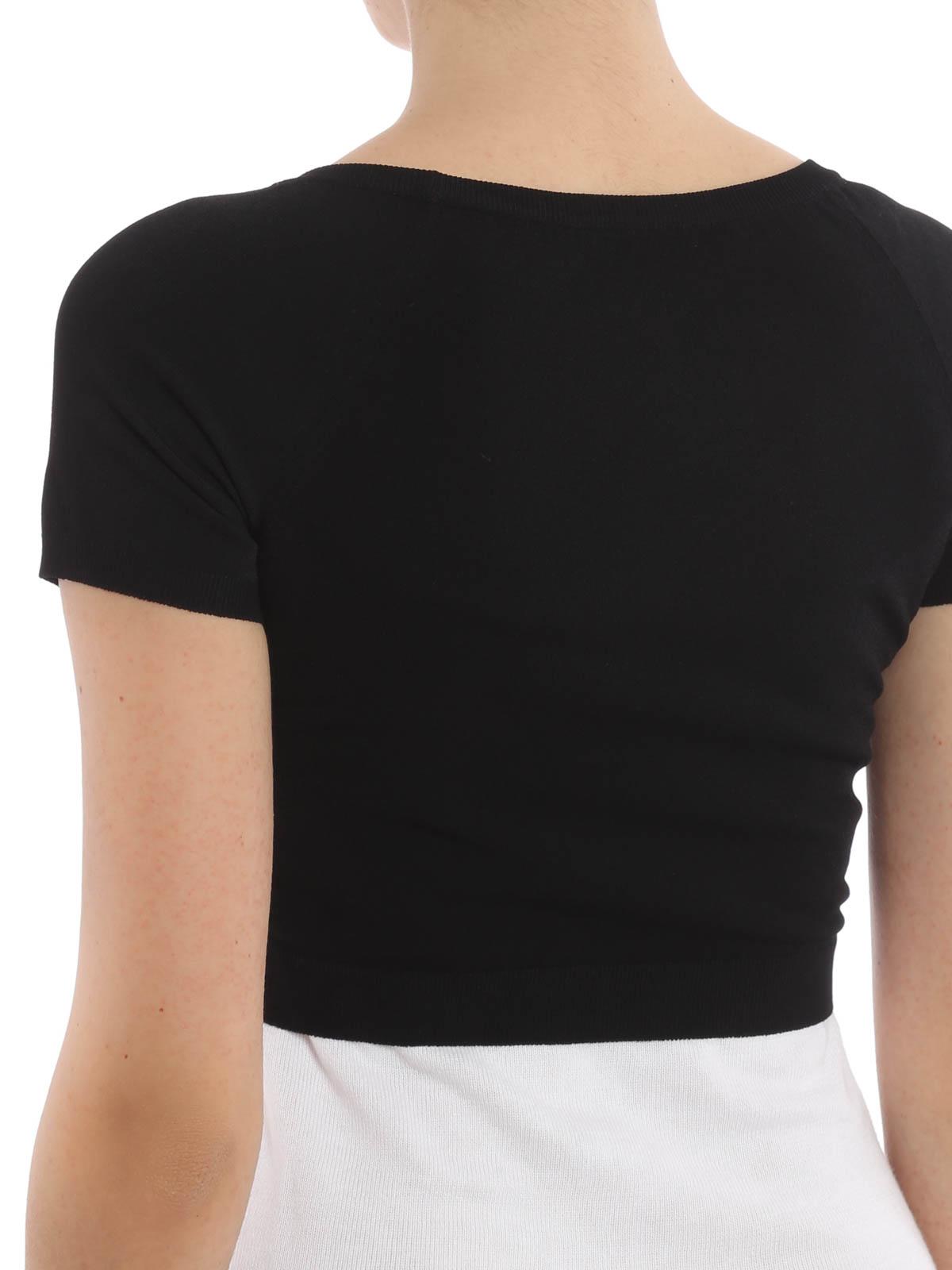 the latest dac42 89573 Moschino Couture - Coprispalle stampa fluo - cardigan - DA ...