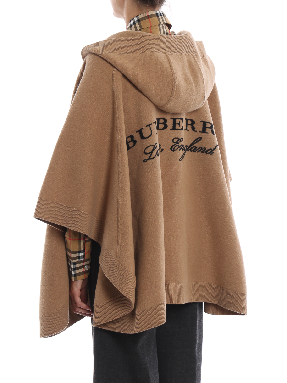 Burberry Cape Beige Capes Amp Ponchos 4020686
