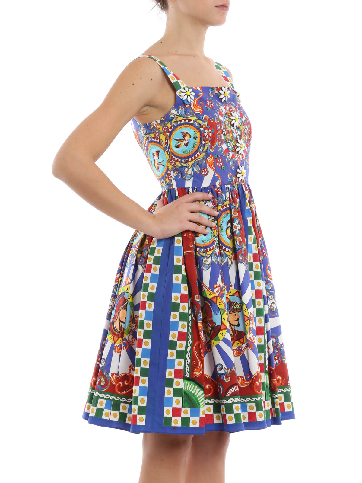 6c5af16829 Dolce   Gabbana - Carretto Siciliano dress - cocktail dresses ...
