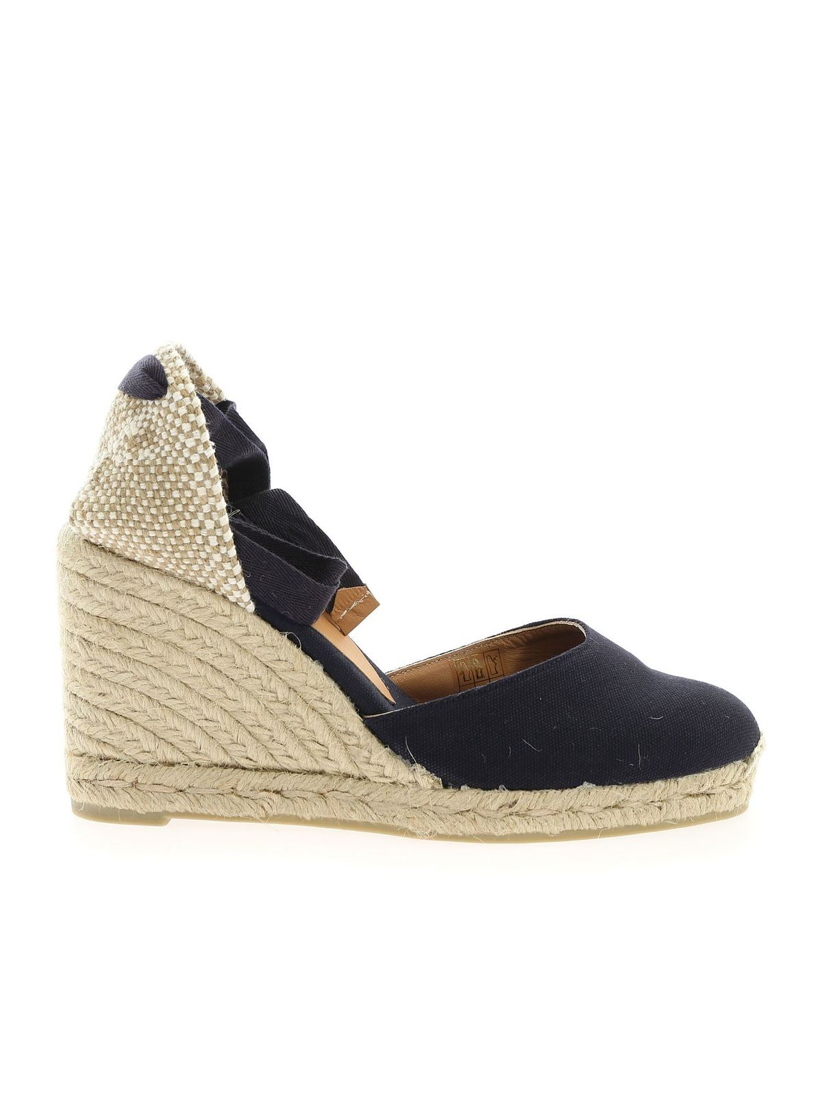 Castaã±er Wedges CARINA ESPADRILLES IN BLUE