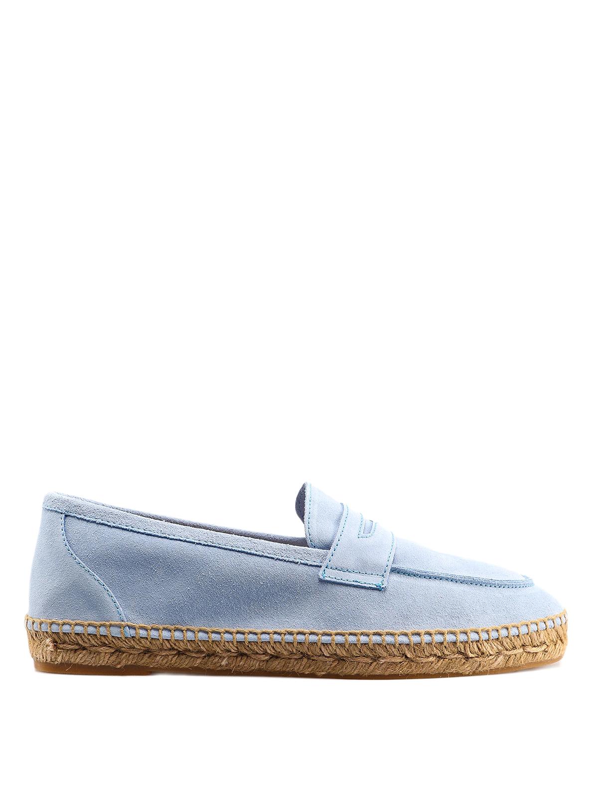 3079a1eec Castaner - Nacho light blue loafer espadrilles - Loafers & Slippers ...