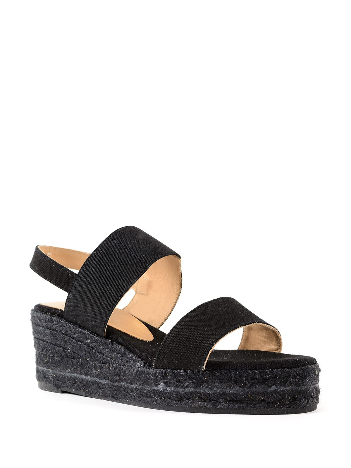 Bonsai espadrilles - Black Castaner