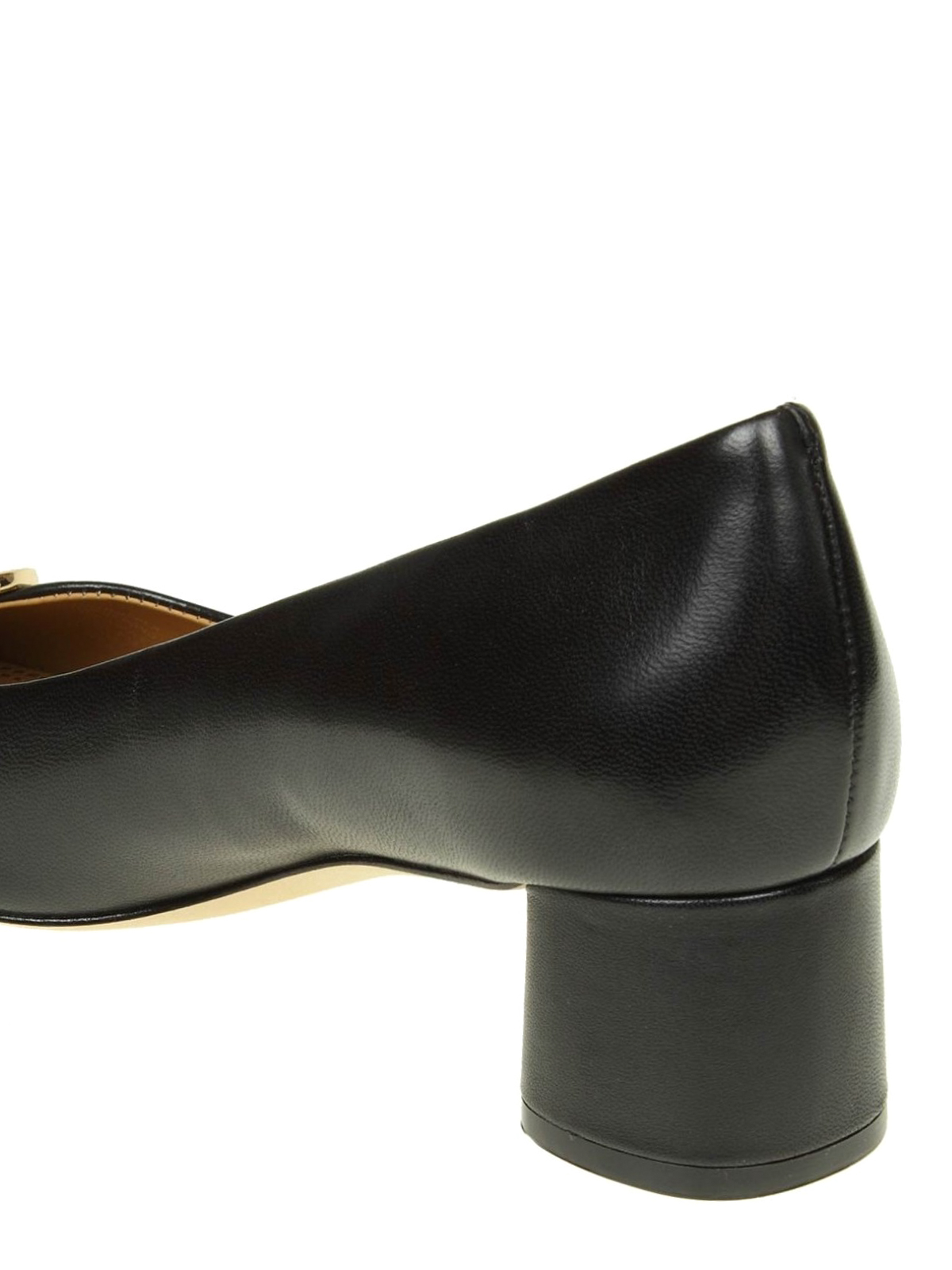 0c7130731947 Tory Burch - Caterina logo detailed leather pumps - court shoes ...