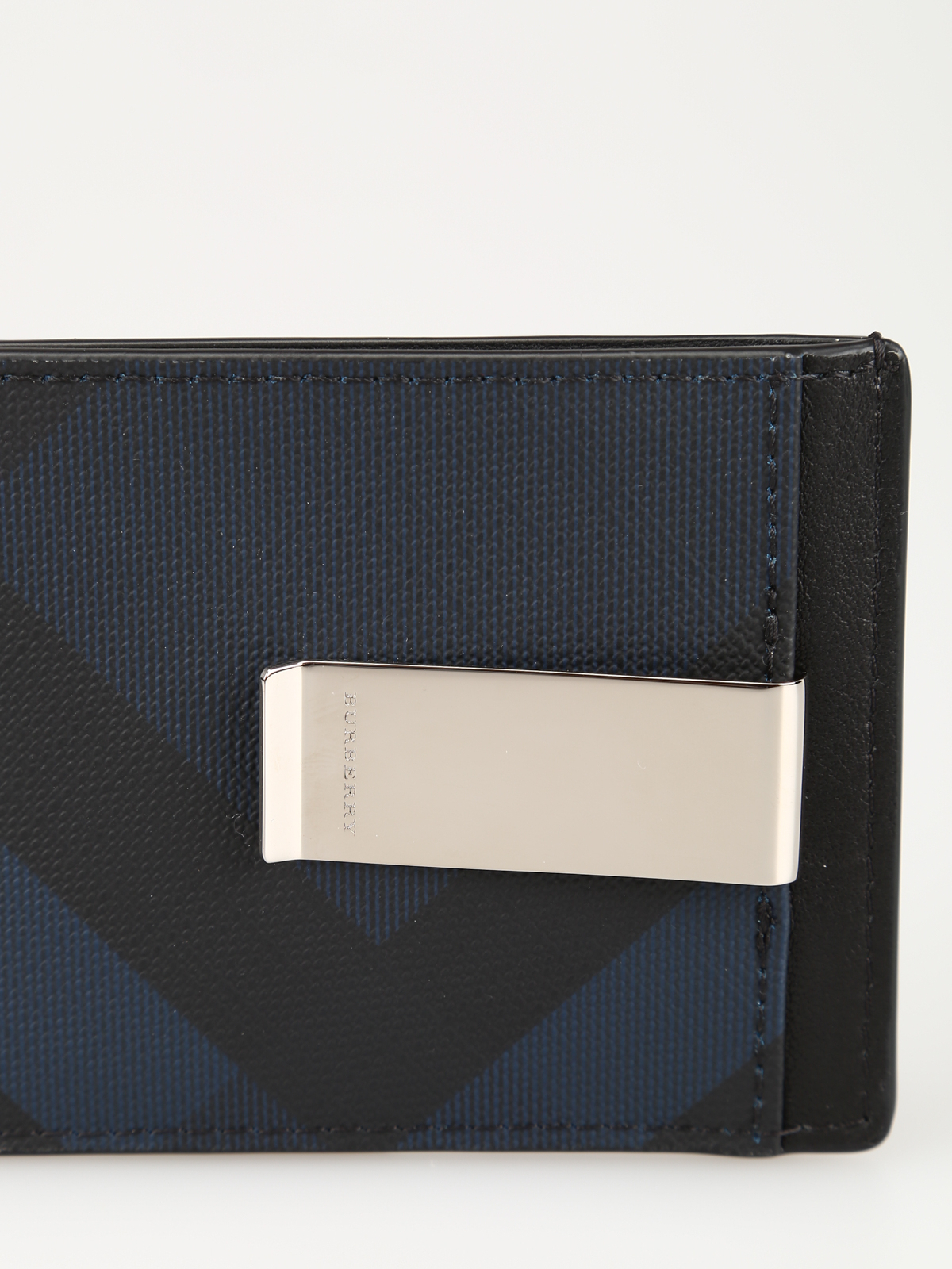 official photos 18c00 01736 Burberry - Chase card case with money clip - wallets & purses - 8006035