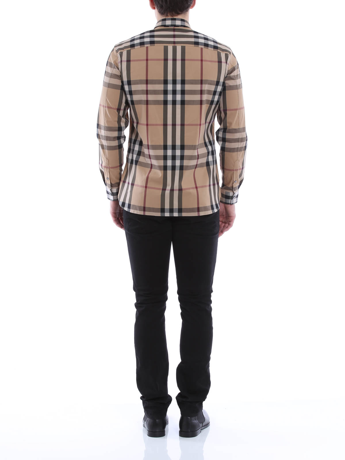 checked nelson shirt by burberry shirts ikrix. Black Bedroom Furniture Sets. Home Design Ideas