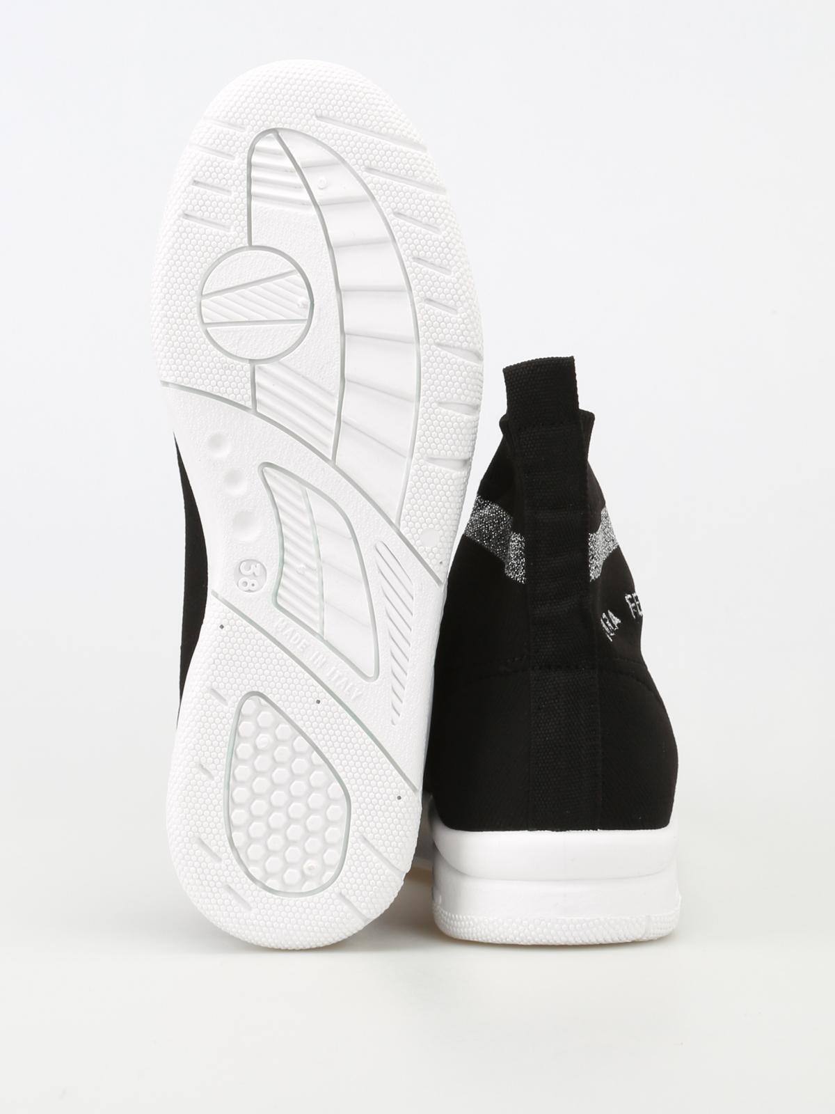 1c8e6e08c Chiara Ferragni - Active slip-on sock sneakers - trainers - CF1948 BLACK