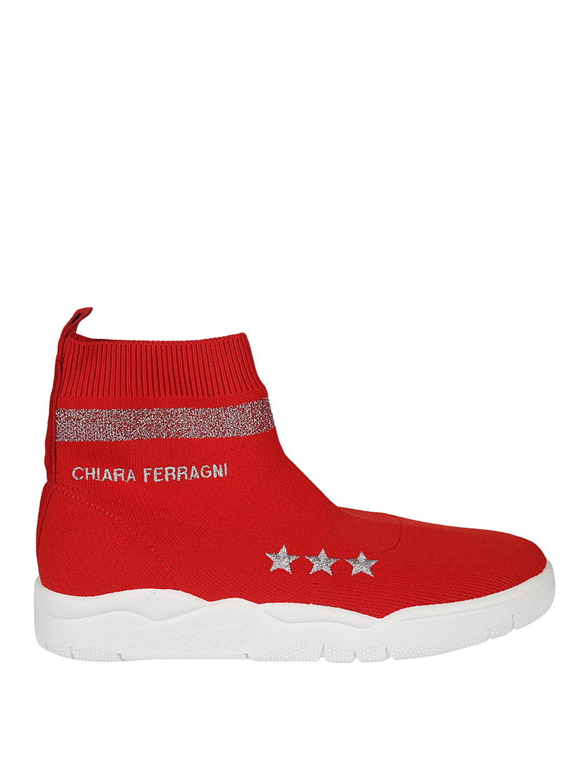 Chiara Ferragni Damenschuhe Damen Schuhe High Sneakers  Active In Red