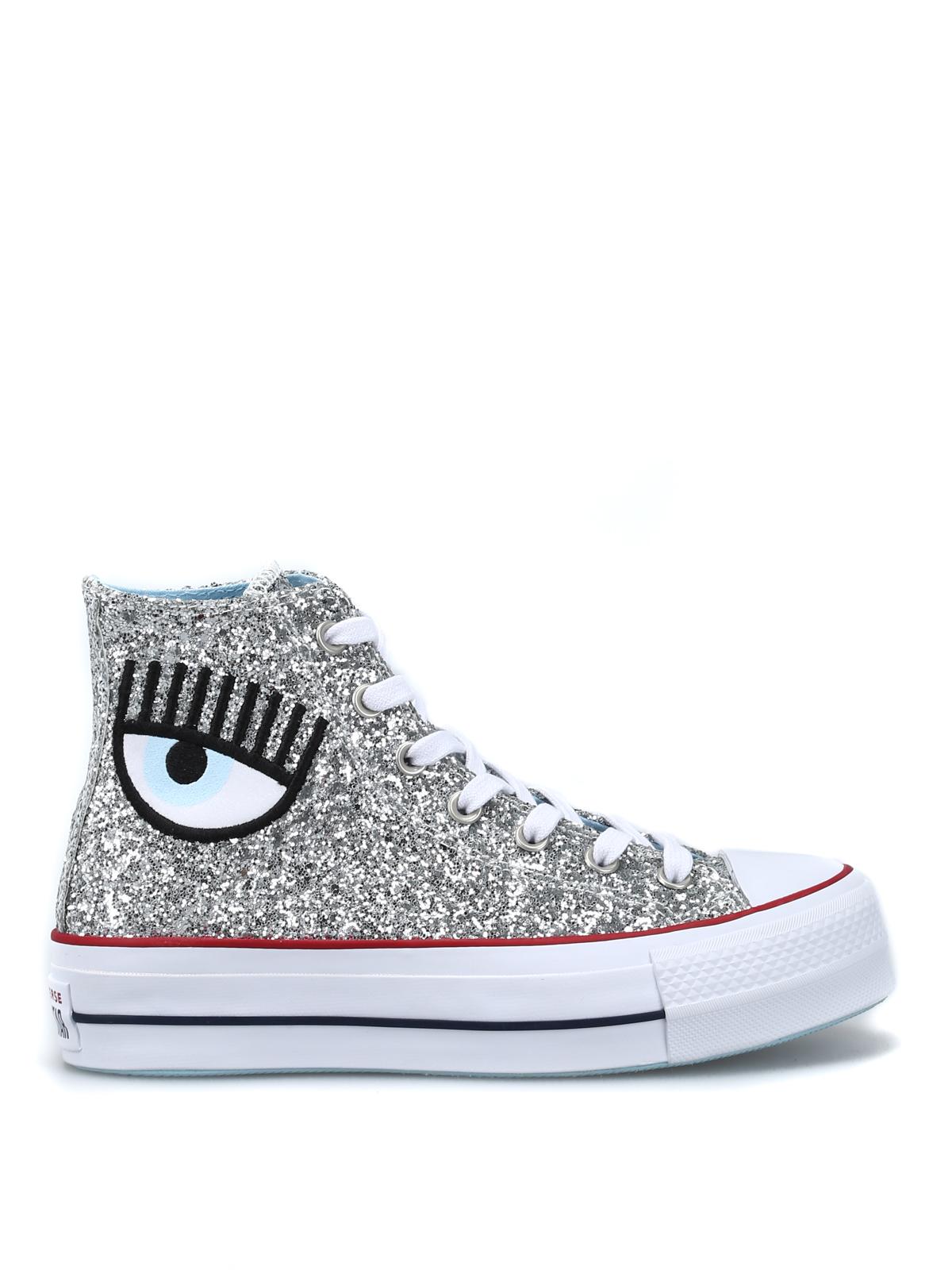 Alte Chiara X Ferragni Glitter Sneaker Converse In SwrqfC6wEx
