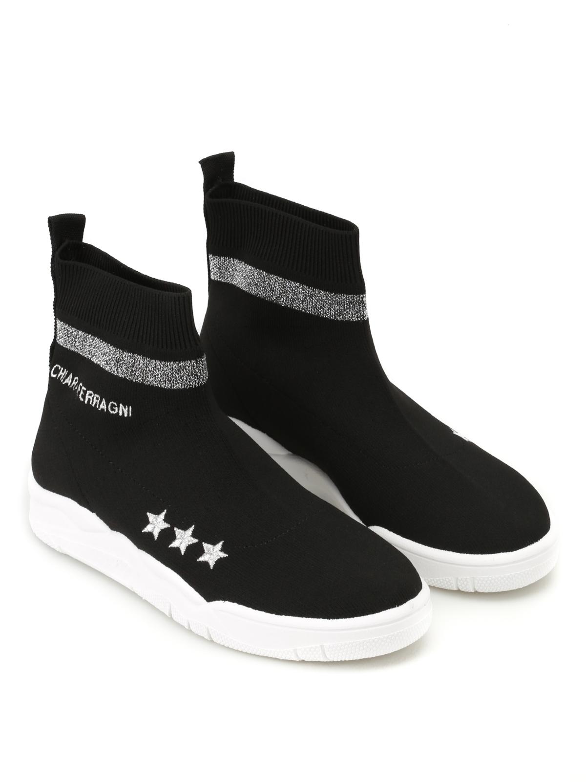 lurex socks sneakers Chiara Ferragni UgHBca5ZZr