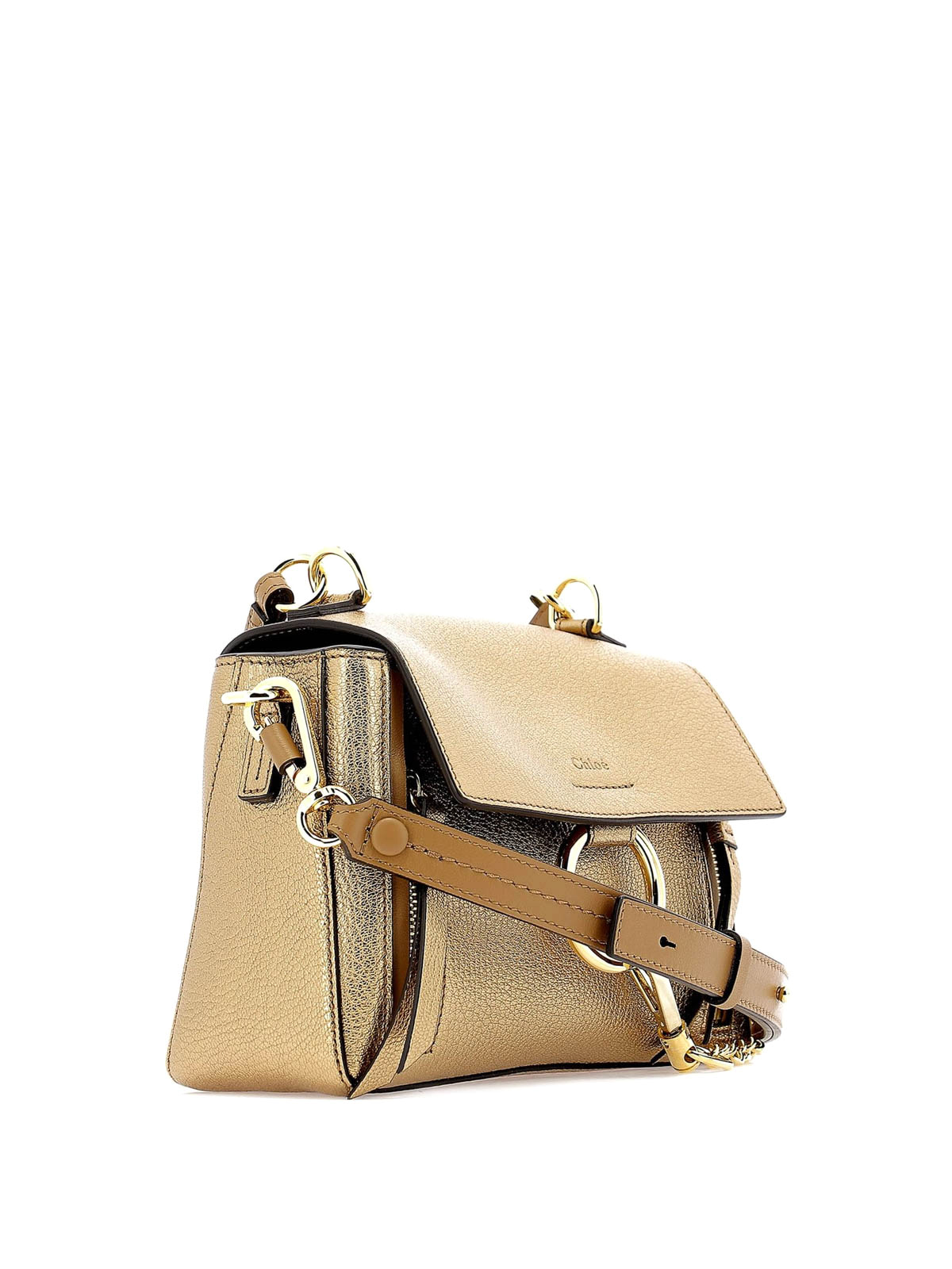 c283117d475b ... Shoulder Bag Happy Green 187332. CHLOE MINI FAYE DAY DOUBLE CARRY BAG  IN BLUSH NUDE SMOOTH   SUEDE CALFSKIN Chloe  39  - Faye Day Mini metallic  leather ...