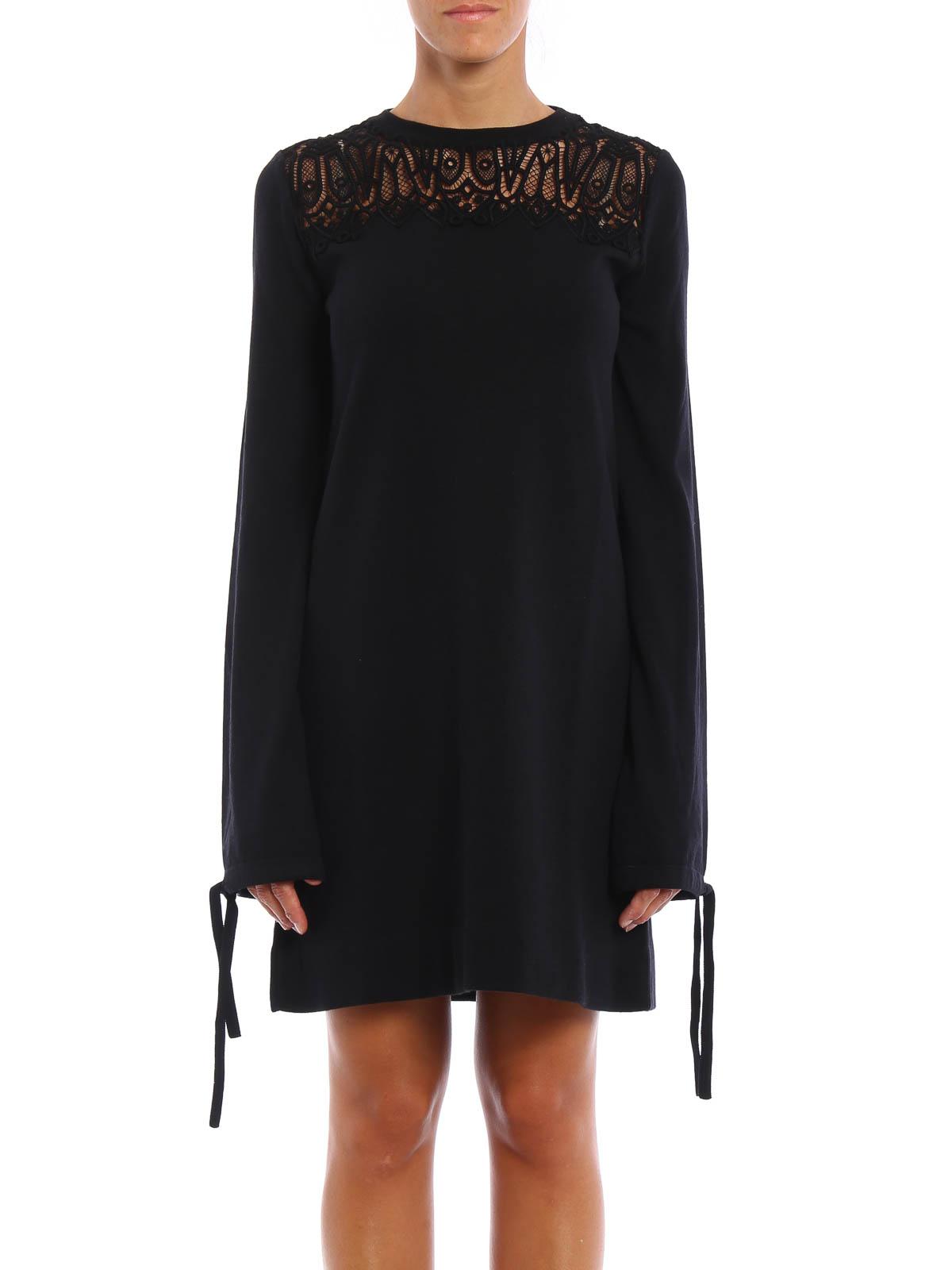 Chloe Lace Details Short Dress Short Dresses 16amr11