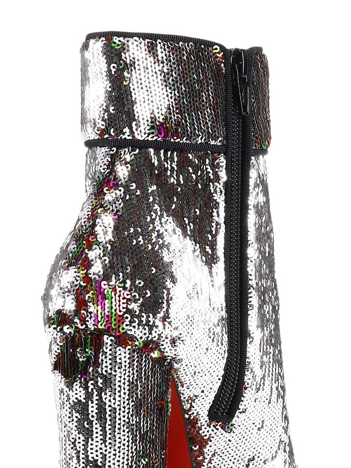 best service 548bf 40e9b Christian Louboutin - Moulamax shimmering sequin booties ...