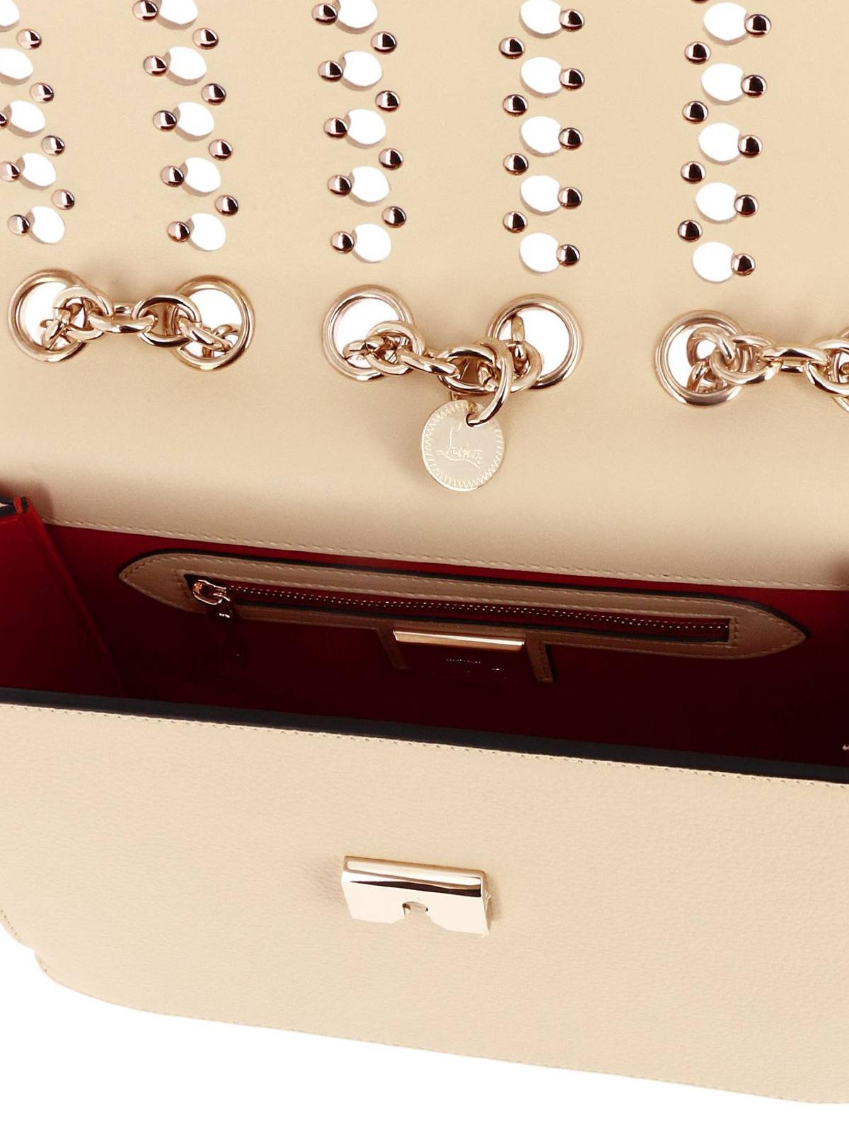 26b957f4e4a Christian Louboutin - Sweet Charity Spikes medium bag - shoulder ...
