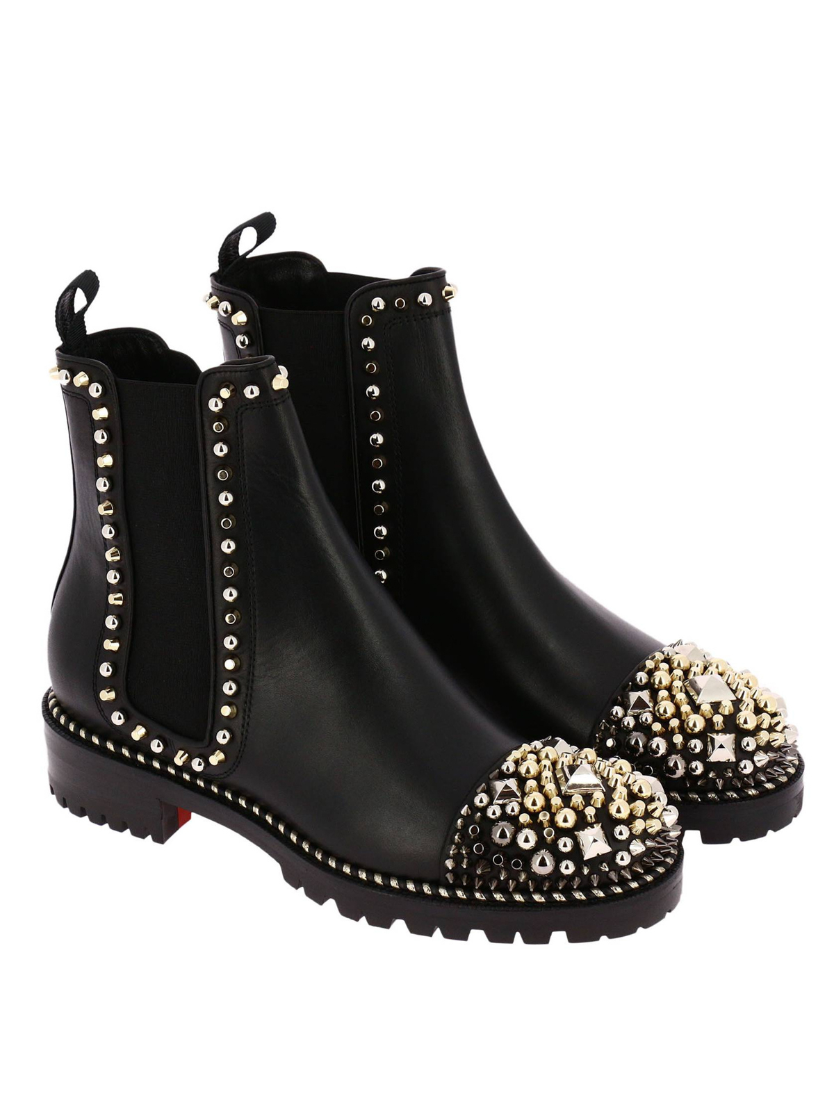 acheter populaire 64fda 018a0 Christian Louboutin - Bottines - Chasse A Clou - Bottines ...