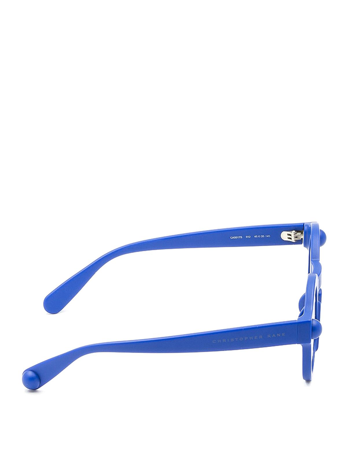 ffcbc2542ace2 CHRISTOPHER KANE  Lunettes de soleil online - Lunettes De Soleil - Bleu