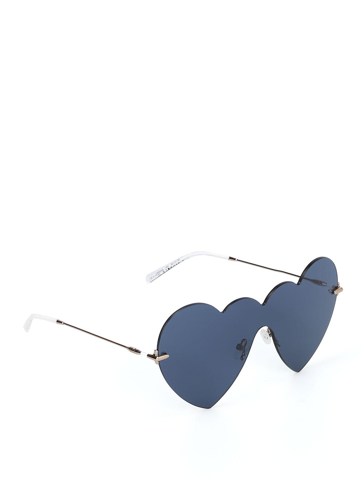 c9b105f693ded Christopher Kane - Lunettes De Soleil - Bleu - Lunettes de soleil ...