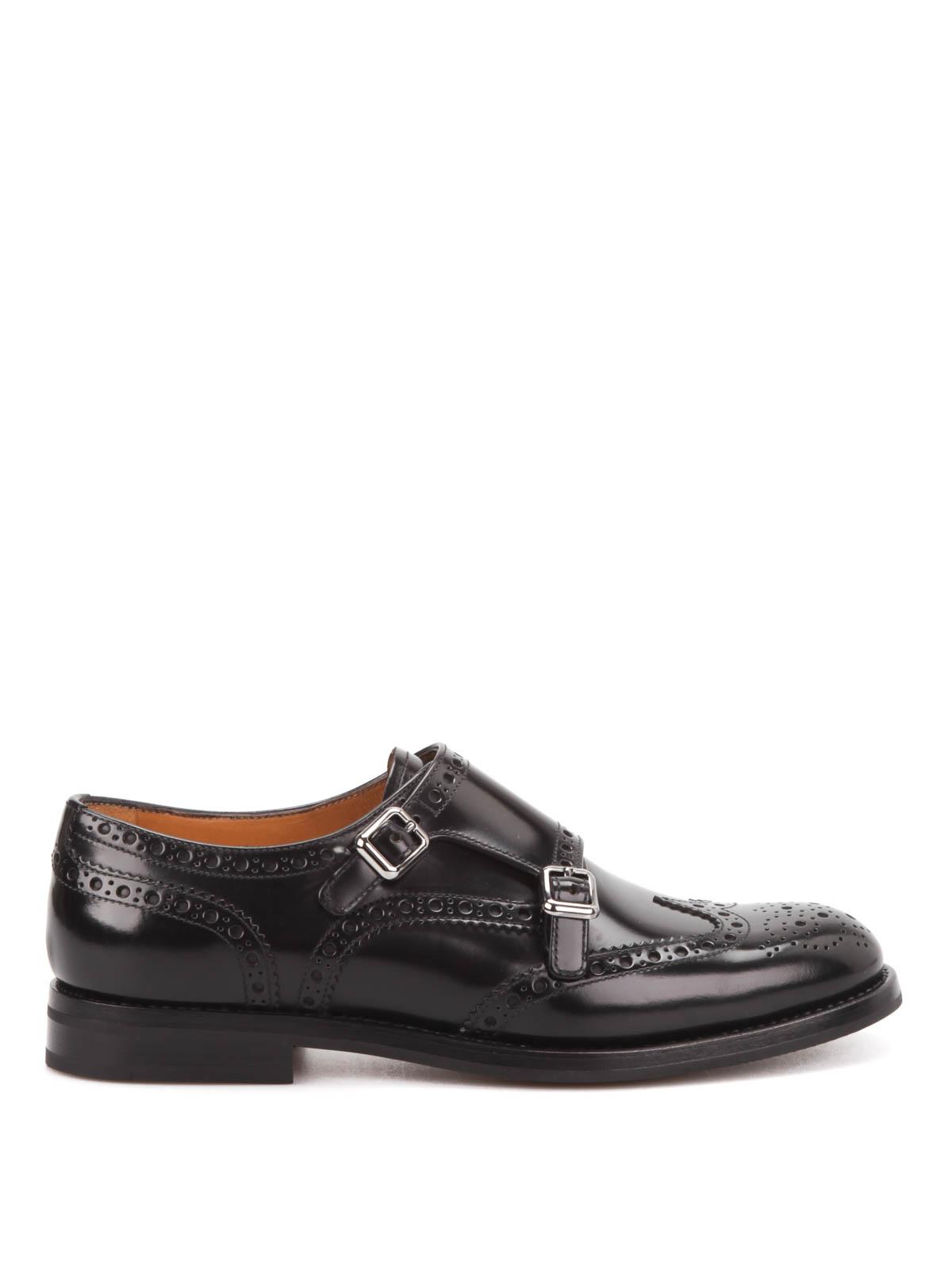 Chaussures Moine Classique De L'église - Marron 3bYGigFyS