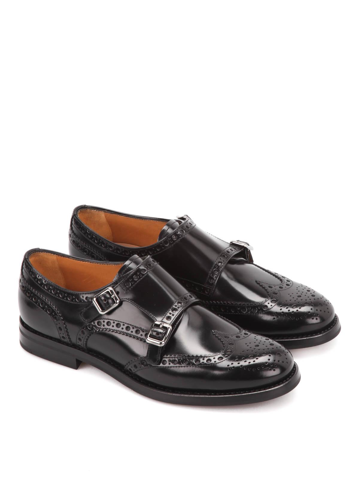 Femme Noir Church's Pour Classiques Chaussures wC55qHvx