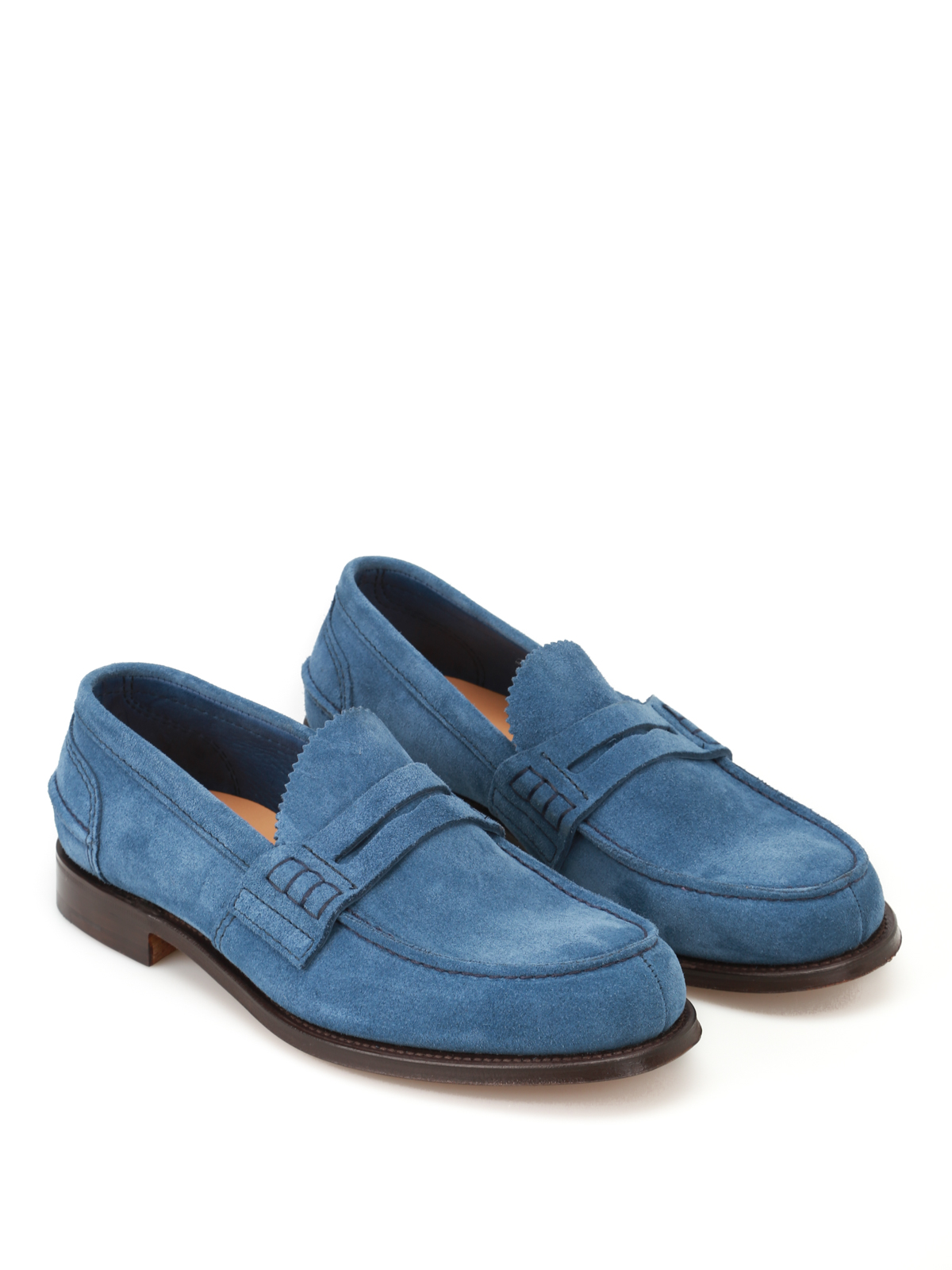 1f84e3530b7 Church s - Pembrey soft suede loafers - Loafers   Slippers - EDB003 ...