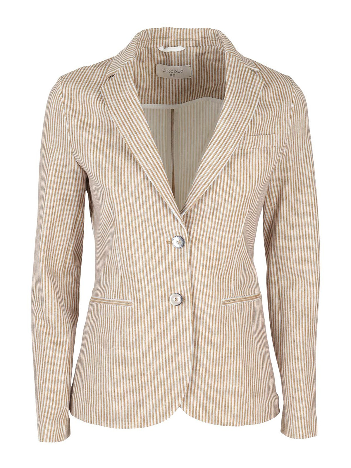 Circolo 1901 Clothing STRIPED BLAZER