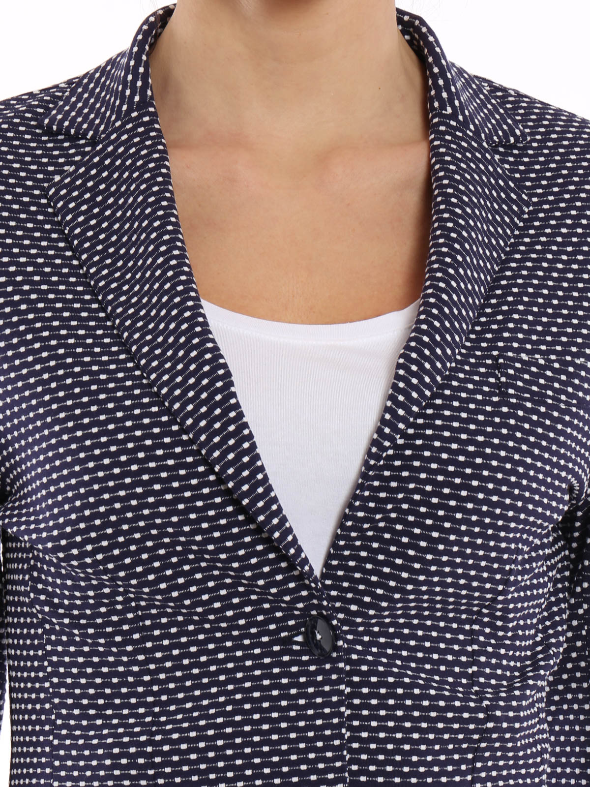 Circolo 1901 Blazer sartoriale con micro motivo giacche