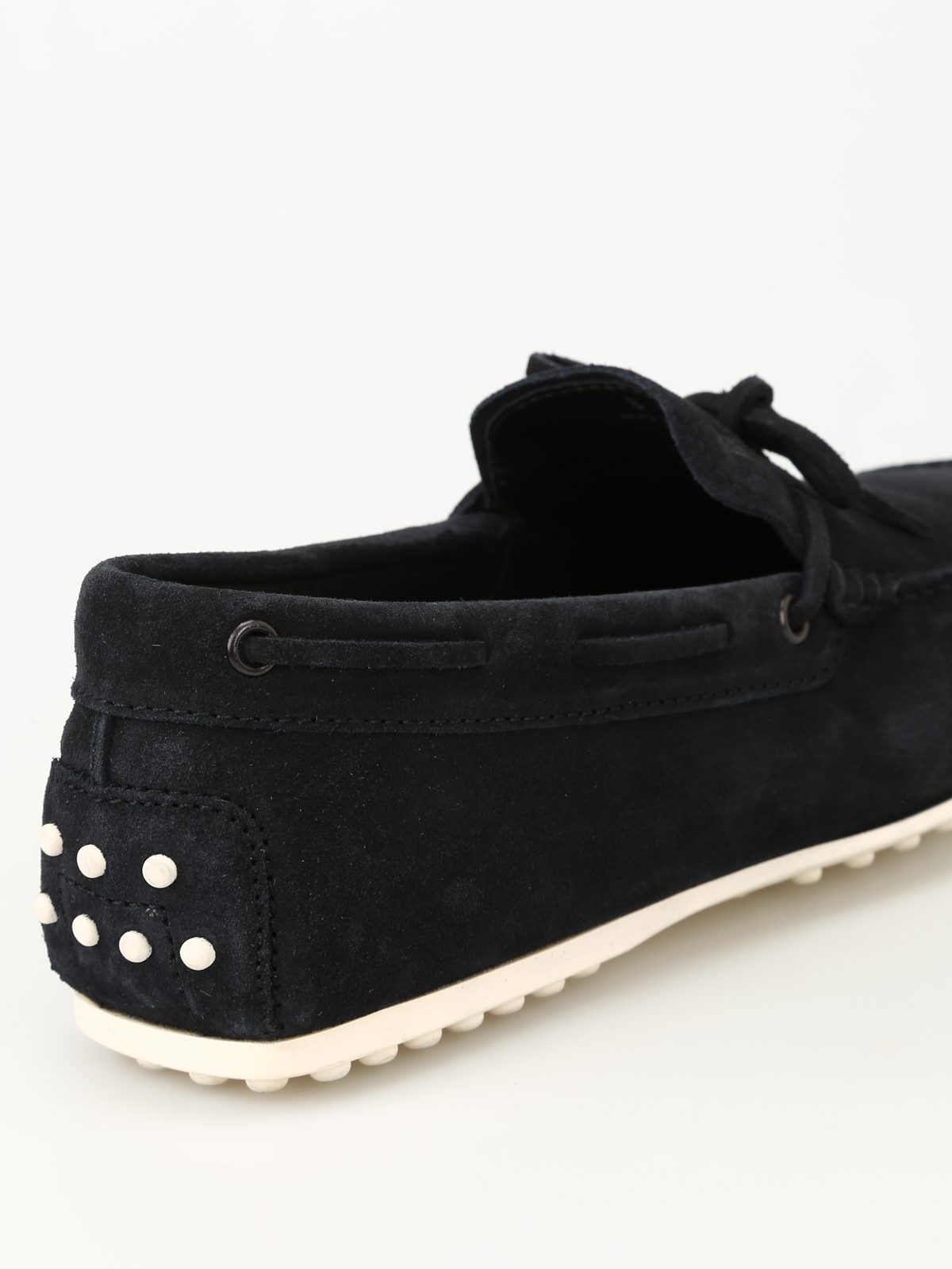da29251ce48 Tod S - City Gommino dark blue loafers - Loafers   Slippers ...