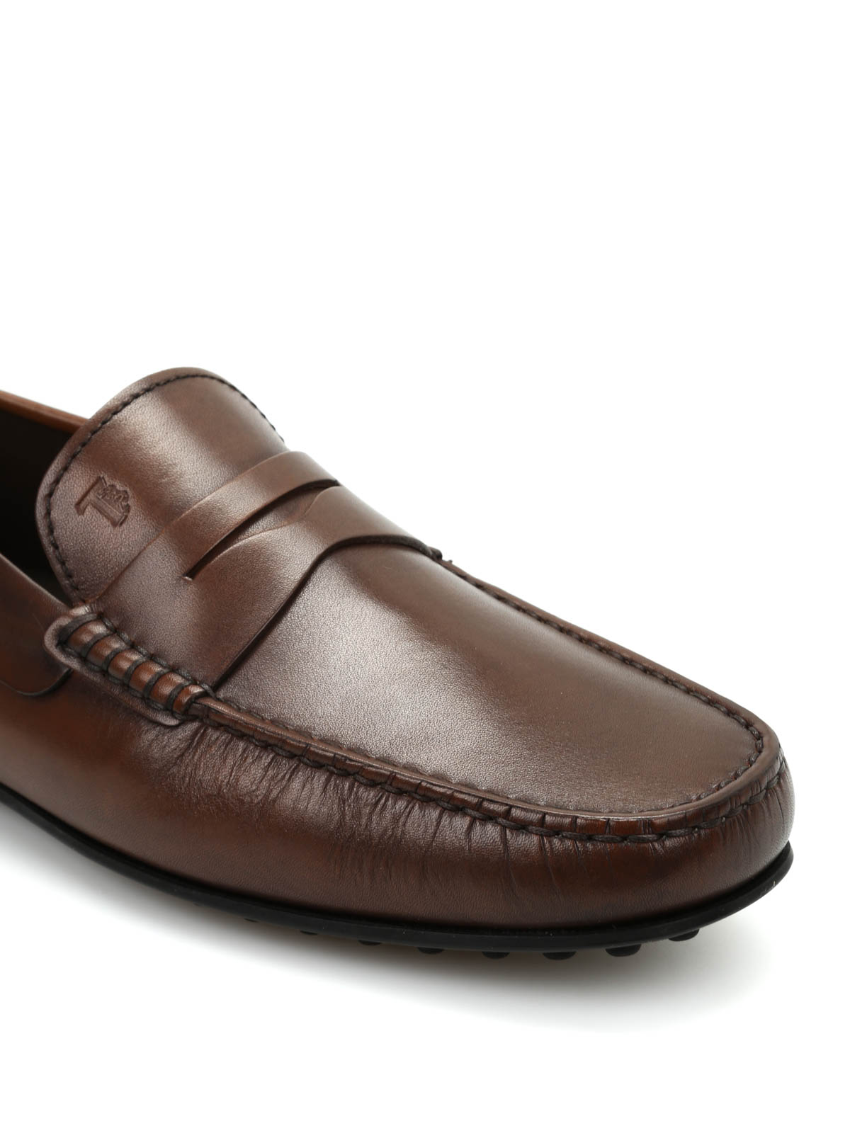 5dadebe6245 Tod S - City Gommino leather loafers - Loafers   Slippers ...