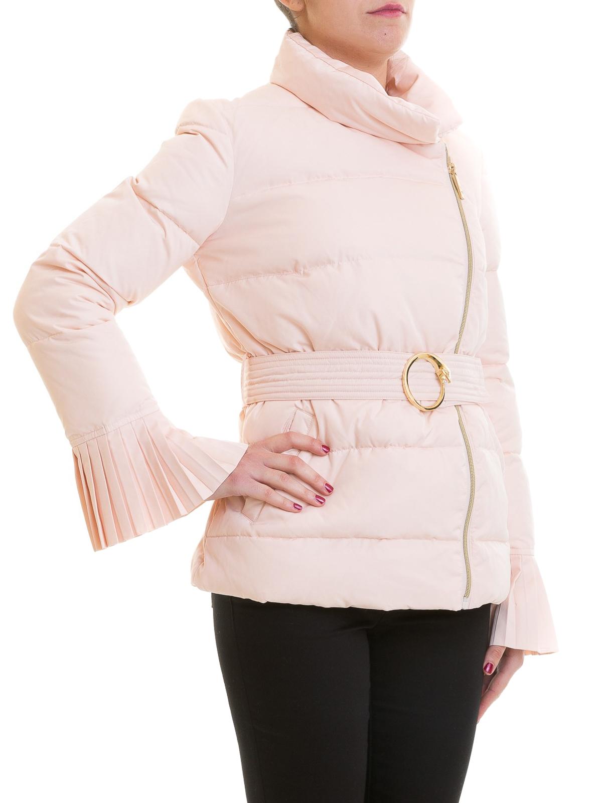 best website ed997 69771 Class Roberto Cavalli - Piumino trapuntato rosa con zip ...