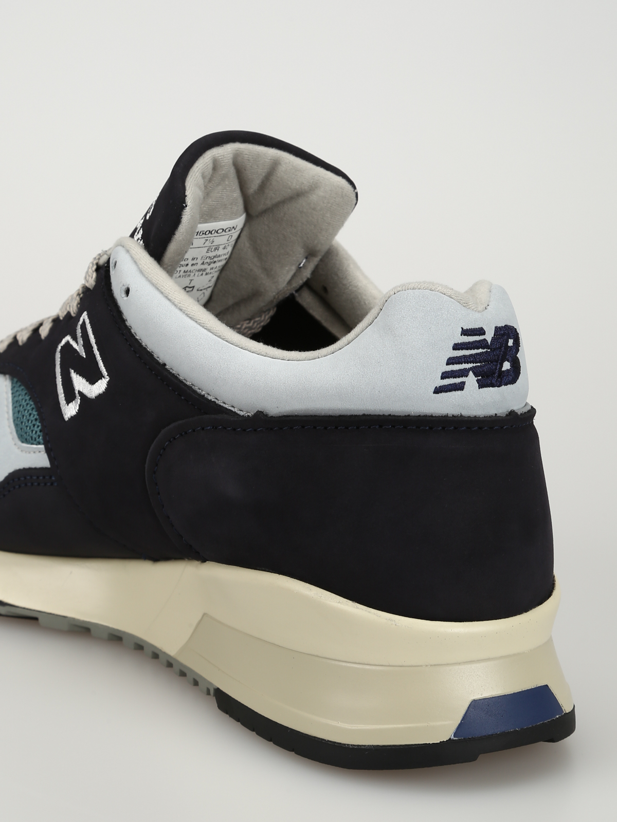 e2ab52fd313a6 New Balance - Classic 1500 leather and mesh sneakers - trainers ...