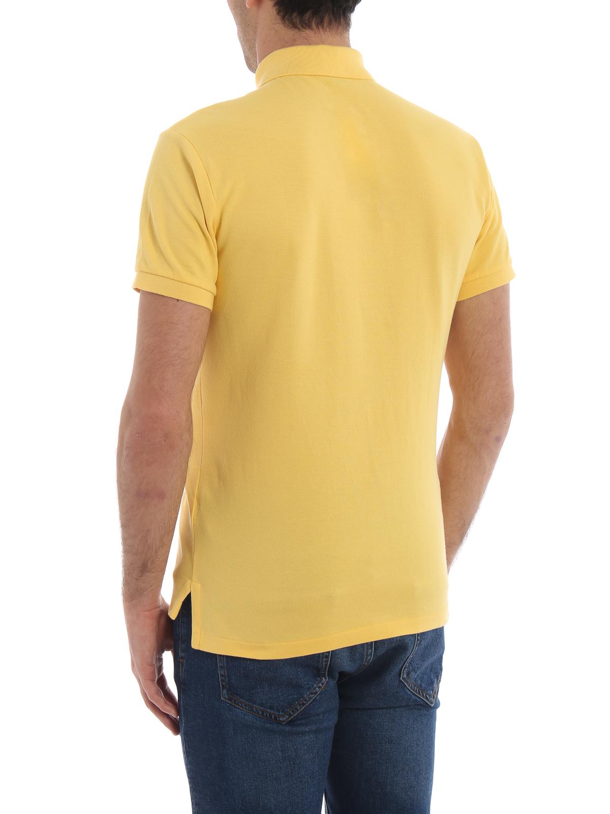 f7906614e1a529 Polo Ralph Lauren - Poloshirt - Gelb - Poloshirts - 710536856068