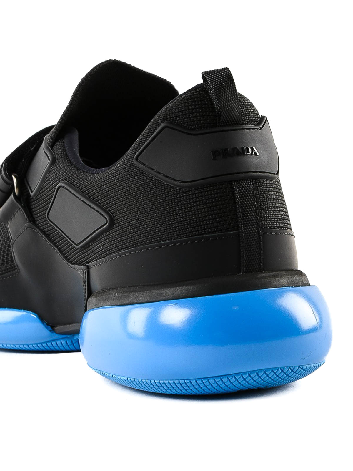 Prada - Cloudbust black and blue fabric
