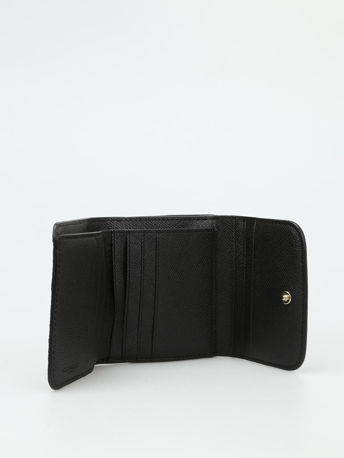 portemonnaie fur damen schwarz von coach portemonnaies. Black Bedroom Furniture Sets. Home Design Ideas
