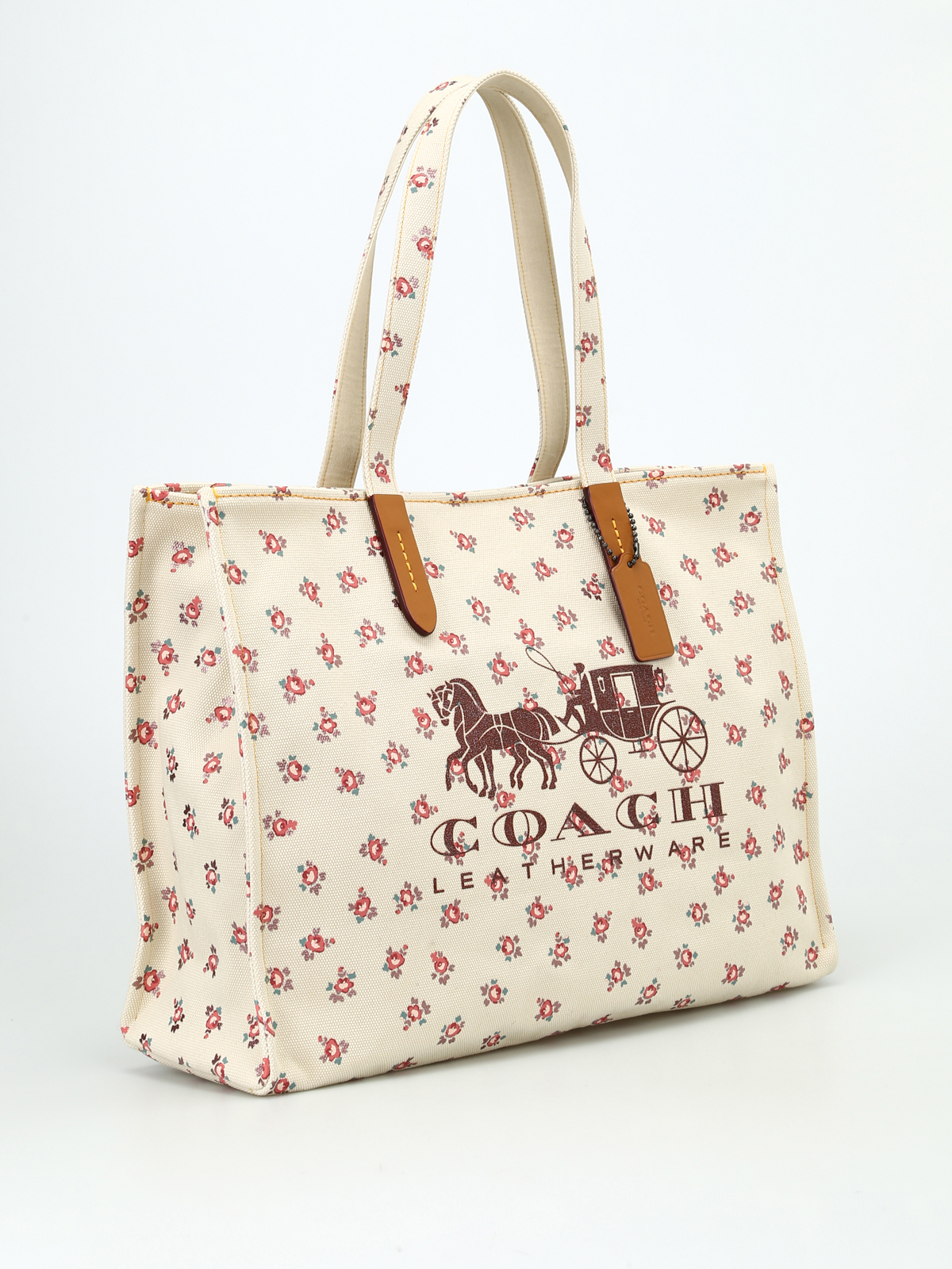 d9173aedf0df Coach - Horse and Carriage canvas tote - totes bags - 25742BPCAH
