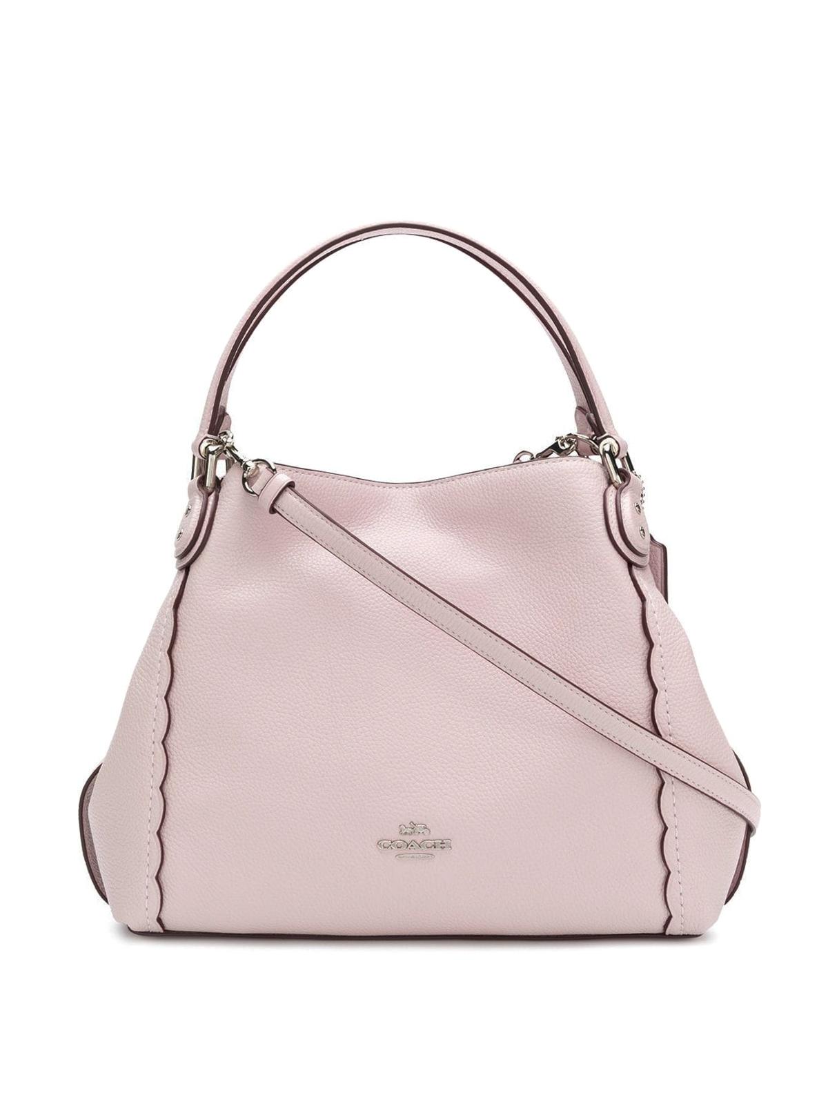 3cd4e101d ... reduced coach shoulder bags pale pink leather shoulder bag 54700 19a49