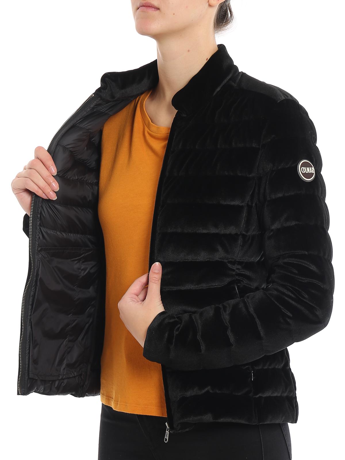 Colmar Originals Piumino in velluto nero giacche