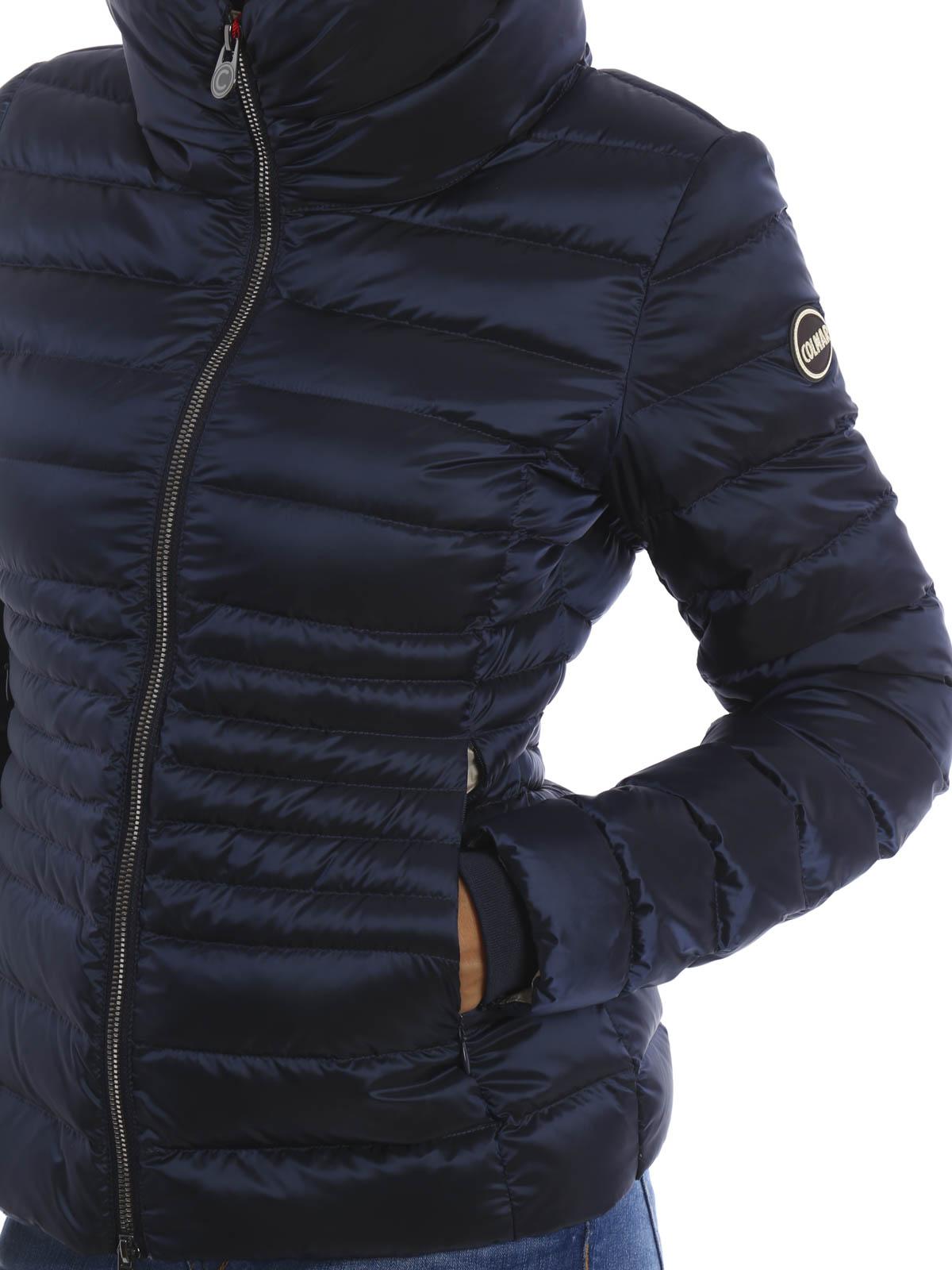 Colmar Originals Kurzer Daunenjacke Fur Damen Blau