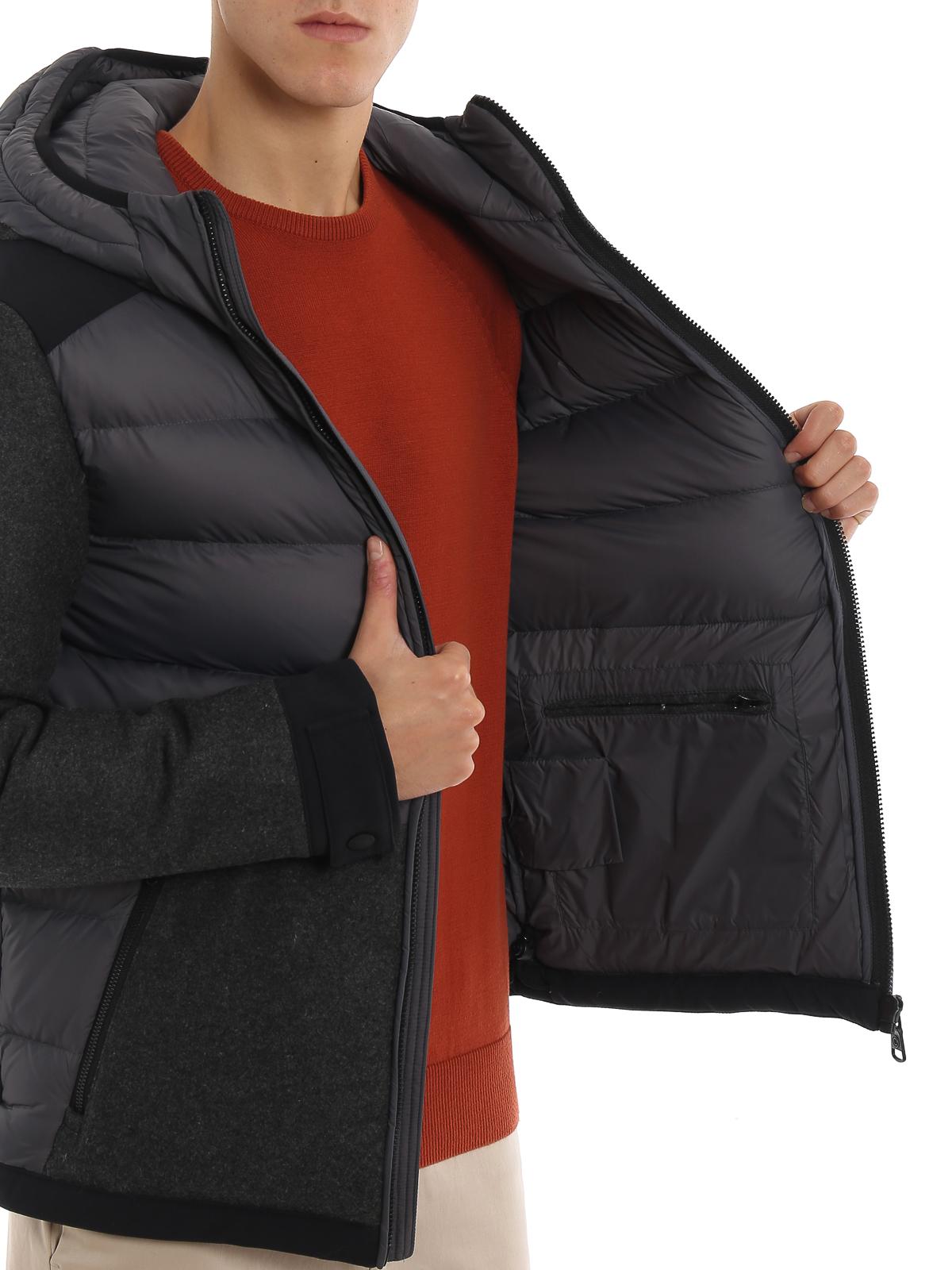 Colmar Originals Piumino in nylon con inserti in lana