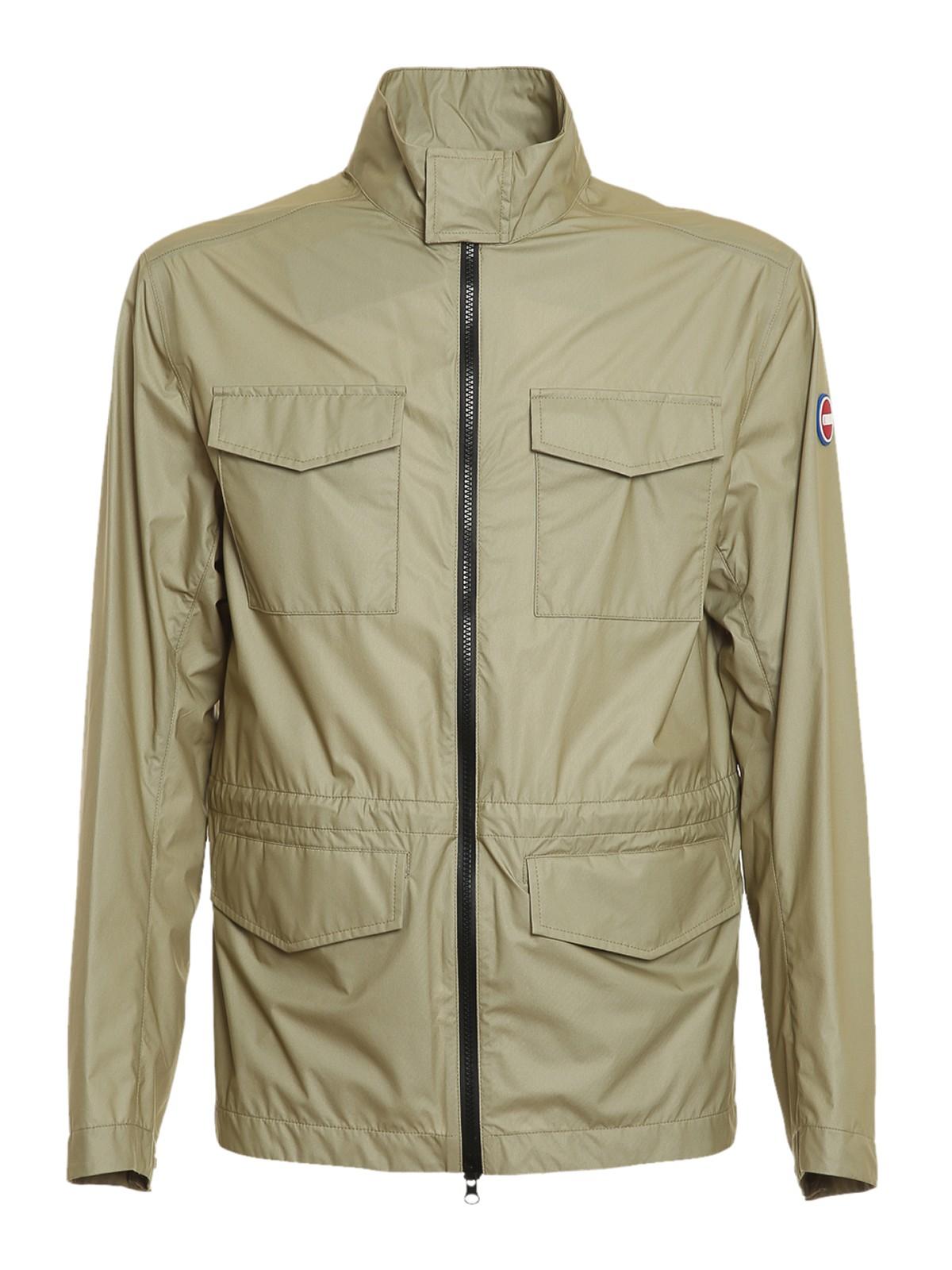 Colmar Originals Waterproof Field Jacket In Beige
