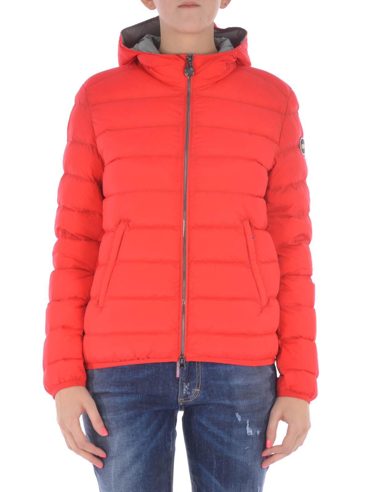 Rot Daunenmantel Damen Originals Fur Colmar Langer W9DYH2EI