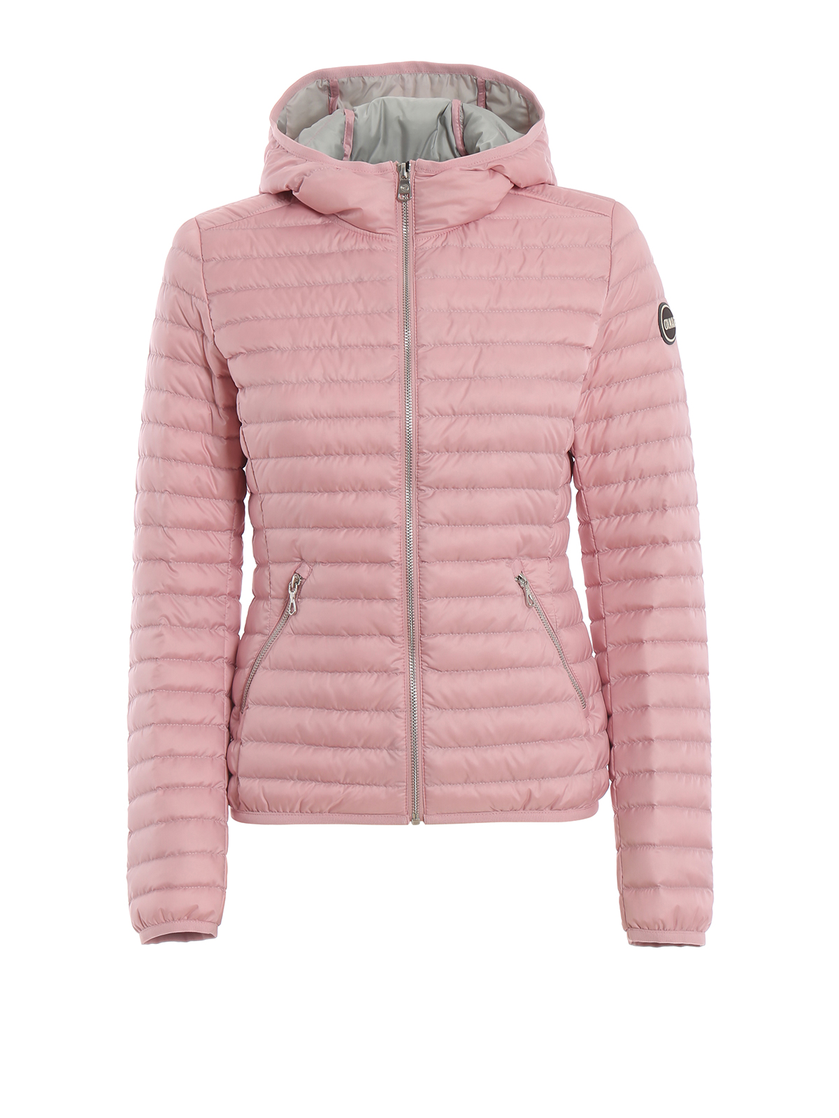 best loved f5f39 3d167 Colmar Originals - Piumino primaverile rosa con cappuccio ...