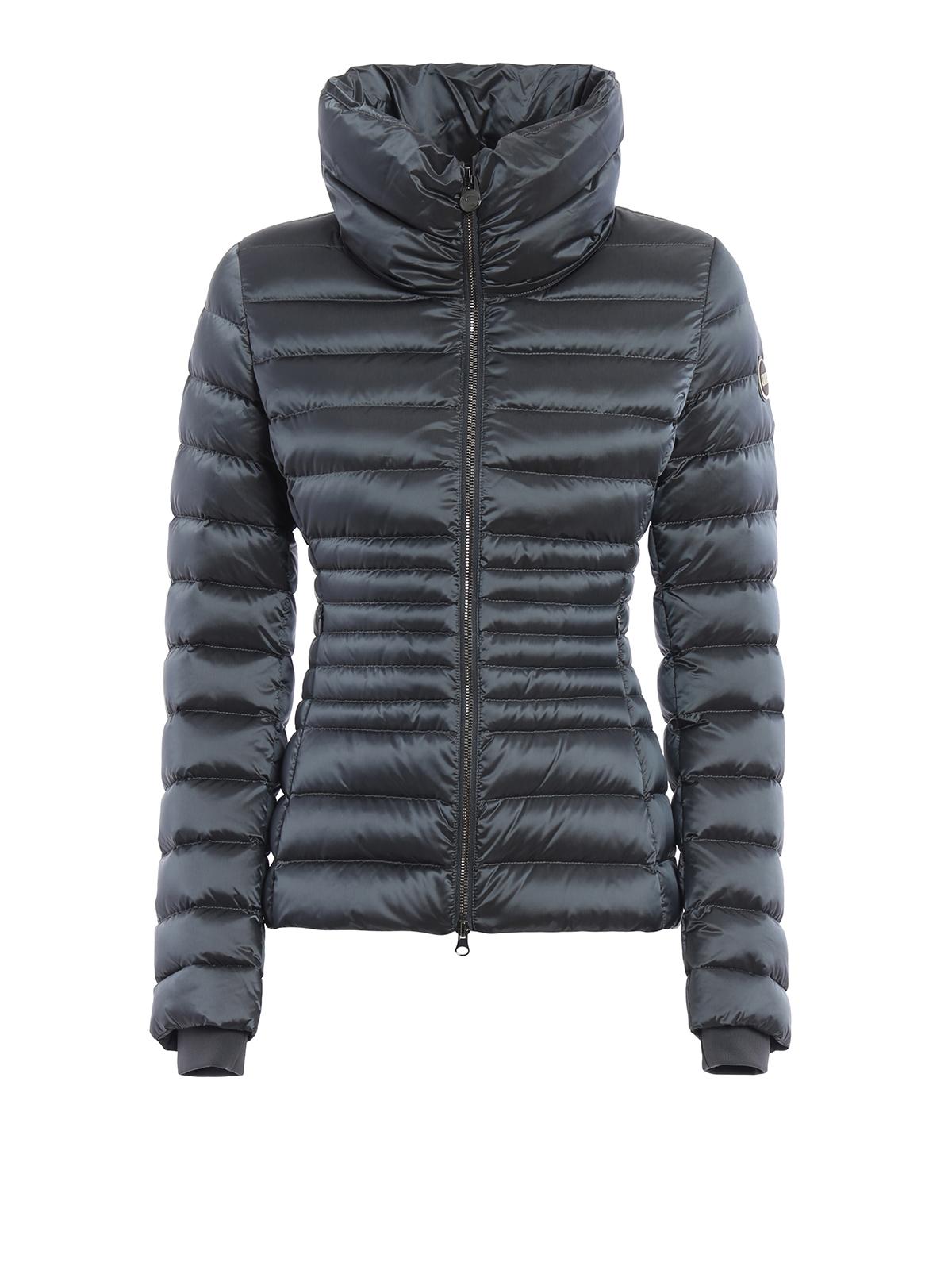 satin effect down jacket by colmar originals padded jackets ikrix. Black Bedroom Furniture Sets. Home Design Ideas